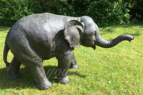 Full size elephant stuffed animal sculpture for sale