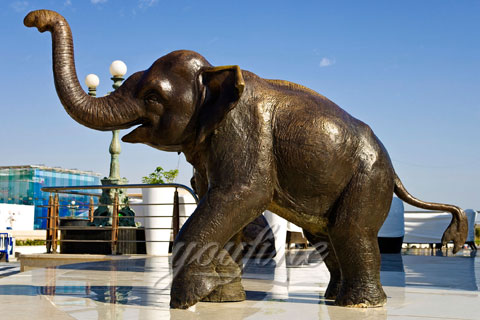 Wholesale Small Cast Bronze Elephant Statues for sale