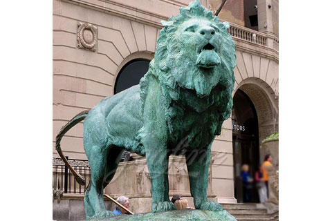 Popular Designs Life Size bronze lion sculptures for sale